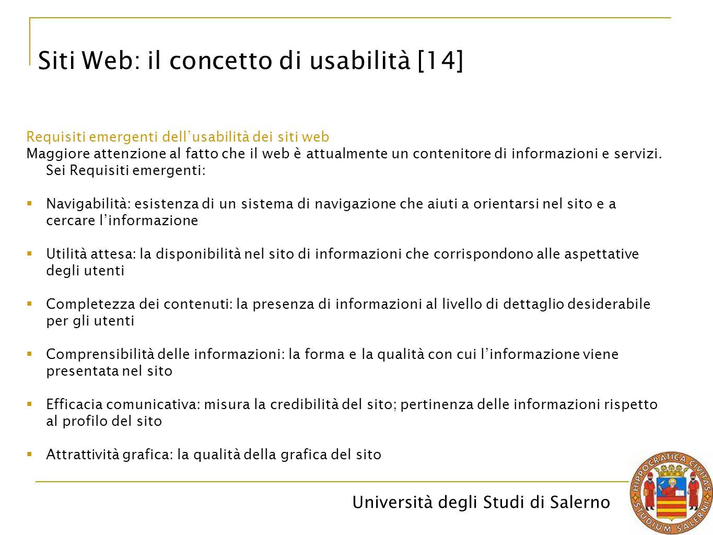 Siti Web: il concetto di usabilità [14]